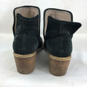bp Shoes - Bp booties black leather size 8 suede lined